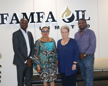 VISIT TO FAMFA OIL